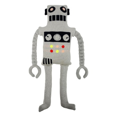 Meri Meri Organic Cotton Robot Cuddly Cushion-product