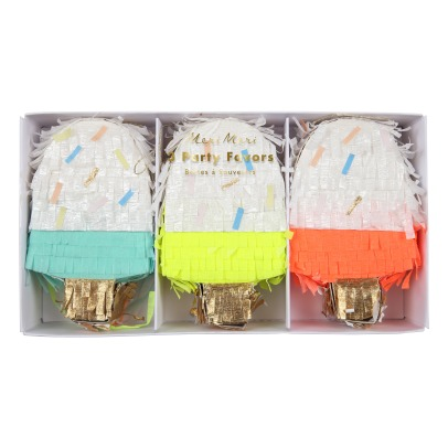 Meri Meri Ice Cream Piñata - Set of 3-listing