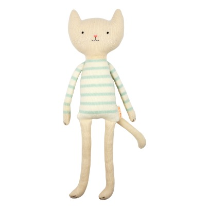Meri Meri Organic Cotton Cat Soft Toy-listing