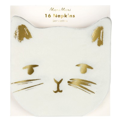 Meri Meri Cat Paper Napkins - Set of 16-listing