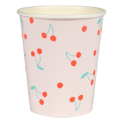 Meri Meri Cherries Paper Cups - Set of 12-listing