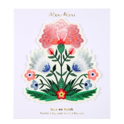 Meri Meri Iron-on Floral Patch-listing
