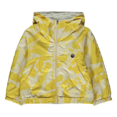 Bellerose Little81 Design Printed Reversible Jacket-listing