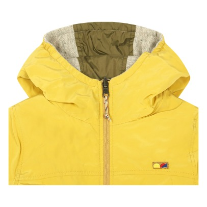 Bellerose Lanzoo Reversible Hooded Jacket-listing