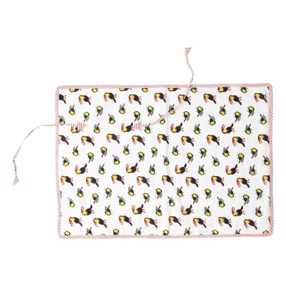 Le Petit Lucas du Tertre Toucans Sweat Lined Travel Changing Mat-listing