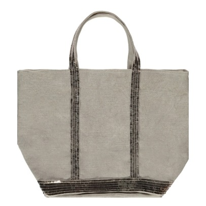 Vanessa Bruno Sequin Linen Medium Shopper-listing