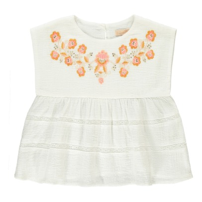 Louise Misha Luciana Embroidered Flower Blouse-product