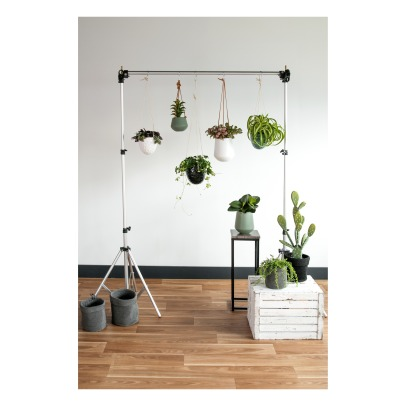 Present Time Ceramic Hanging Planter-listing