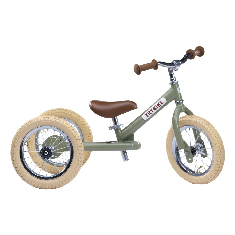draisienne tricycle vert trybike jouet et loisir enfant. Black Bedroom Furniture Sets. Home Design Ideas