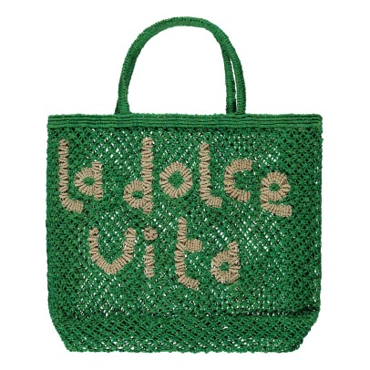 The Jacksons La Dolce Vita Small Jute Shopper-listing