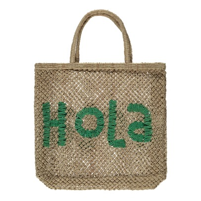 The Jacksons Sac Cabas Jute Large Hola-listing