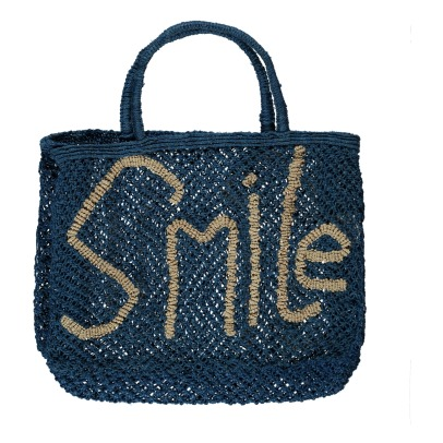 The Jacksons Smile Small Jute Shopper-listing