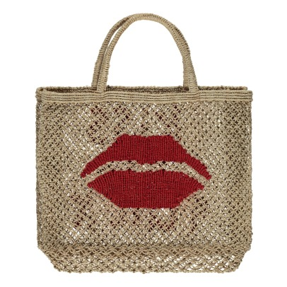 The Jacksons Shopper in juta piccola Kiss me quick -listing
