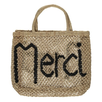The Jacksons Shopper piccola in juta Merci -listing