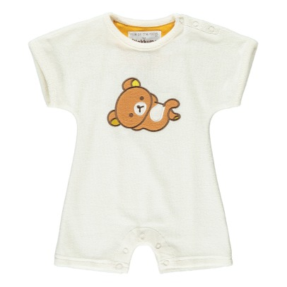 Milk on the Rocks Fleece-Overall Rilakkuma Boston-listing