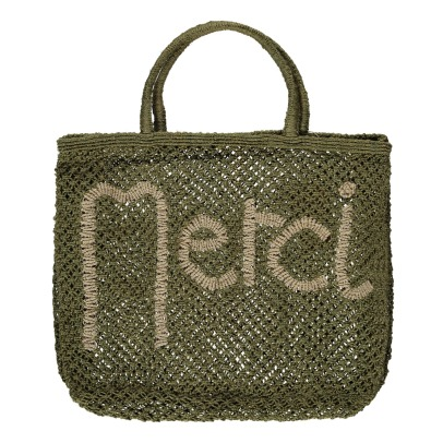 The Jacksons Sac Cabas Jute Large Merci-listing