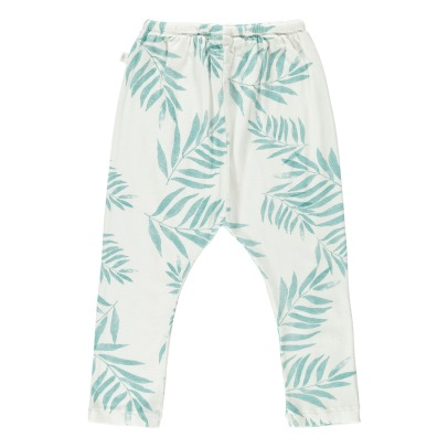 Moumout Opa Palm Leaf Ribbed Harem Trousers-product