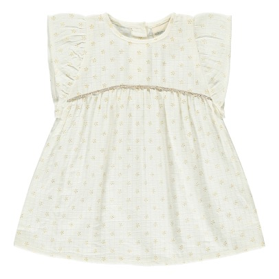 Louis Louise Bettina Gold Dot Dress-listing