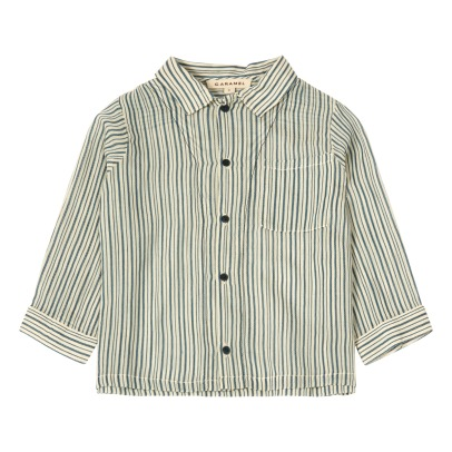 Caramel Bariri Striped Shirt-listing