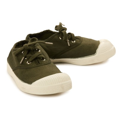Bensimon Lace Up Tennis Shoes-listing