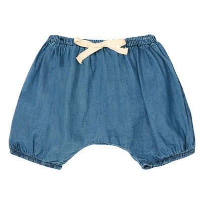 Buho Poppy Dot Chambray Bloomers-listing