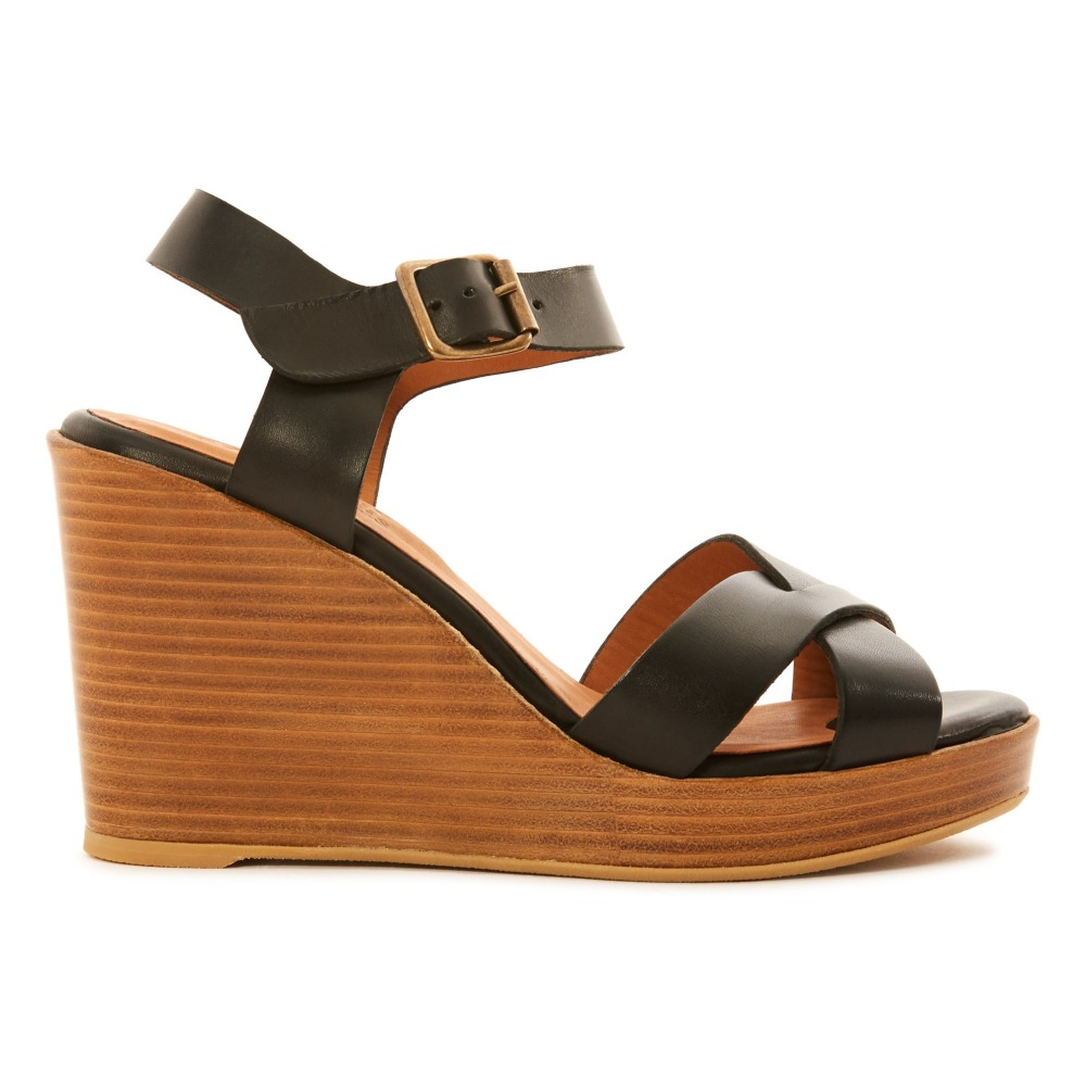 Sale - Birmanie Cross Suede Sandals - Anthology Paris Anthology Paris QK8xRN4