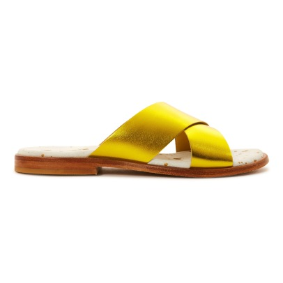 Craie Infinity Cross Leather Sandals-listing