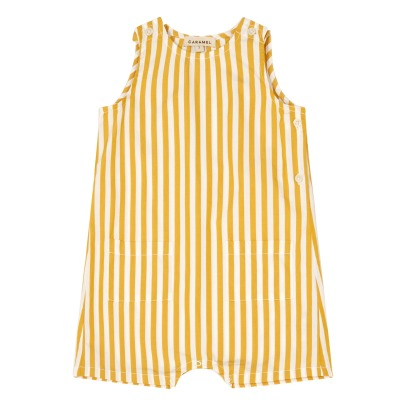 Caramel Lugano Striped Playsuit-product