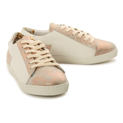 Craie Must Lace-Up Leather Trainers-listing