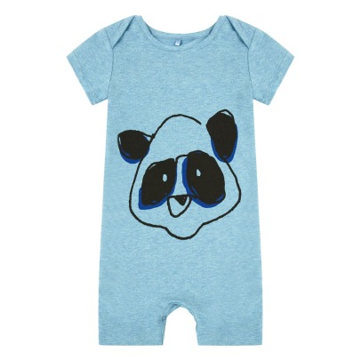 Soft Gallery Owen Organic Cotton Panda Playsuit-product
