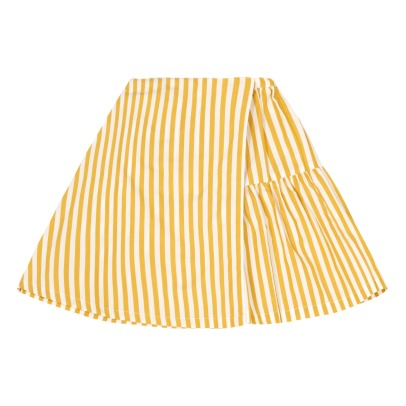 Caramel Jupia Striped Maxi Skirt-listing