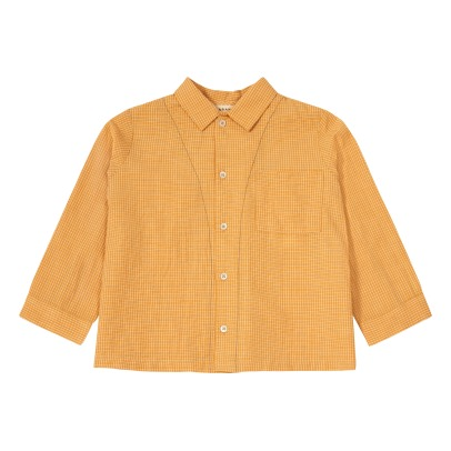 Caramel Bariri Checked Shirt-listing