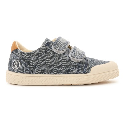 Sale - Glitter Velcro Low Top Trainers - 10 IS 10 IS PjIX1F4iOh