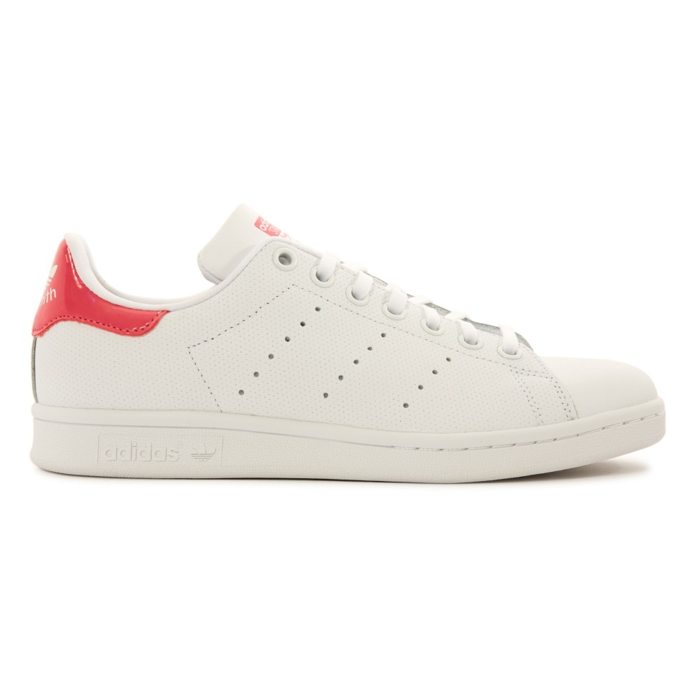 Leather Elastic Lace Stan Smith Pink Trainers adidas KopTYxJjNT