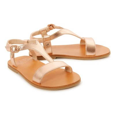 Manuela de Juan  Eolios Calf Leather Sandals-listing