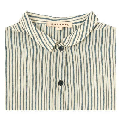 Caramel Albert Striped Shirt-listing