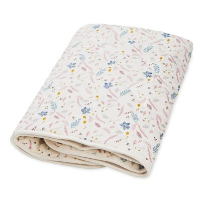 Cam Cam Organic Cotton Leaves Quilted Blanket-listing