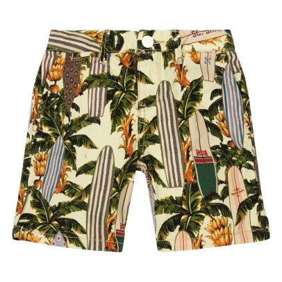 Scotch & Soda All-Over Canvas Shorts-listing