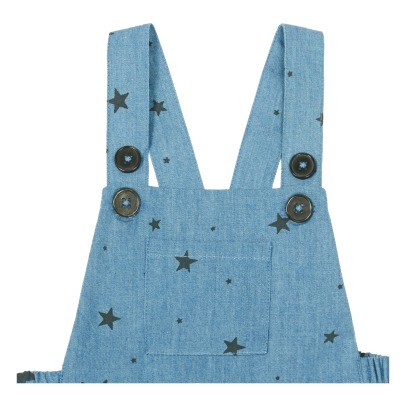 Louis Louise Barboteuse Chambray Etoiles Camion-listing