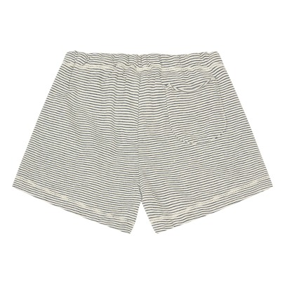 De Cavana Striped Jersey Shorts-listing
