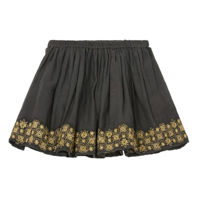 Moon Paris Vera Embroidered Skirt-listing