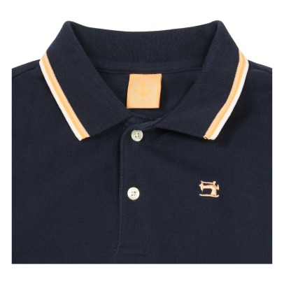 Scotch & Soda Polo Col Contrasté-listing