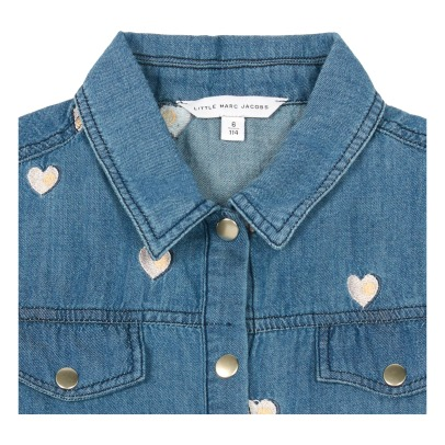 Little Marc Jacobs Abito in denim cuore -listing