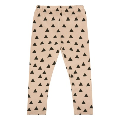 Chocolate Soup Allover Triangle Pima Cotton Leggings-listing