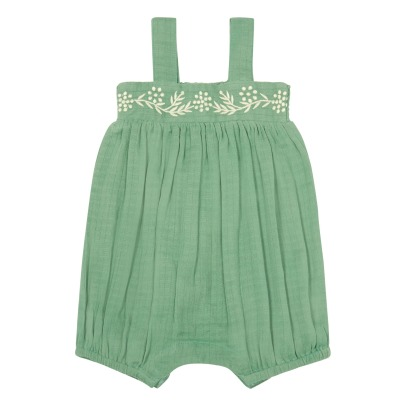 Louis Louise Melon Embroidered Romper-listing