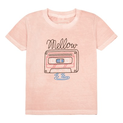 Chocolate Soup Exclusivité Chocolate Soup x Smallable x Isetan - T-Shirt Brodé Cassette-listing