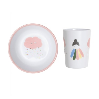 Pax & Hart Melamine Cloud Dish Set - 2 pieces-listing