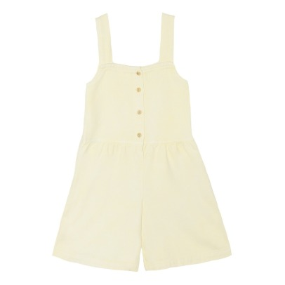 Yellowpelota Lady Organic Cotton Playsuit-listing