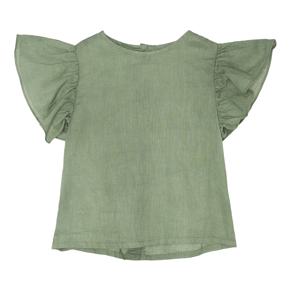 Blouse Lin Bio Volants Peter-product