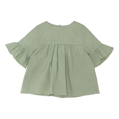 Yellowpelota Wendy Organic Cotton Blouse-listing